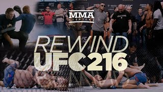 UFC 216 Rewind: Tony Ferguson, Demetrious Johnson Pick Up Big Title Wins - MMA Fighting