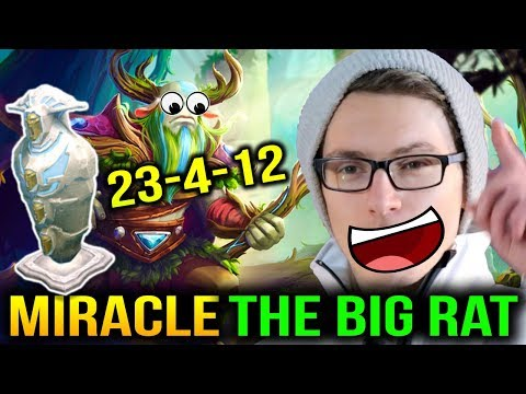 MIRACLE is Having Fun RAT with Nature Prophet Dota 2 7.11