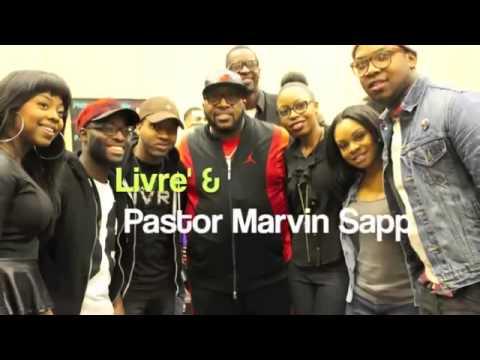 Livre Behind The Scenes In The Media Room at Praise 103.9 C