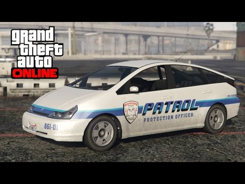 GTA 5 Online - How To Find The Merryweather Patrol Car (Karin Dilettante)