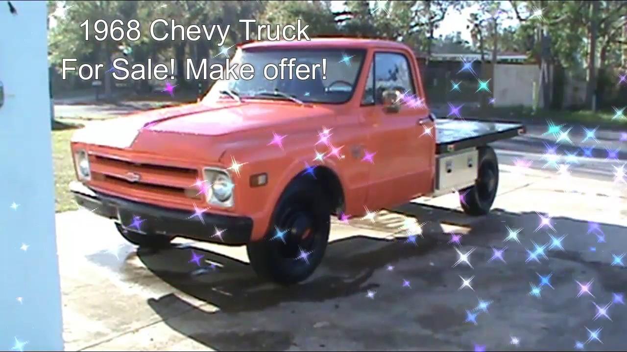 1968 chevy c10 stepside parts