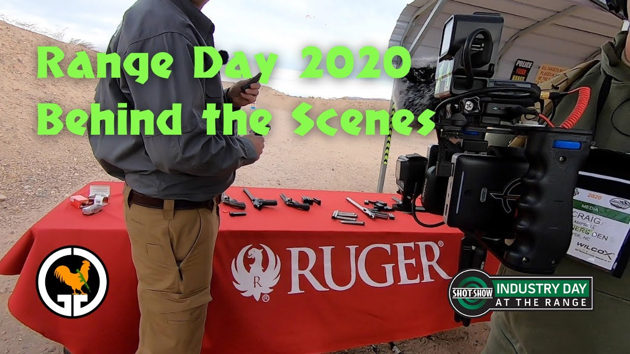 Range Day 2020 Behind The Scenes - Ruger
