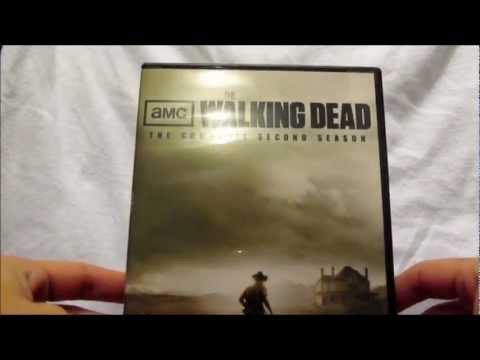 The Walking Dead Season 2 DVD Unboxing 4-Disc