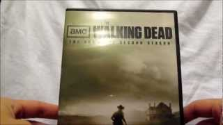 The Walking Dead Season 2 DVD Unboxing 4-Disc