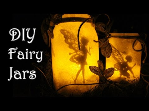 DIY: FAIRY GLOW JARS | NO TISSUE PAPER | FAIRY LANTERN + GIVEAWAY