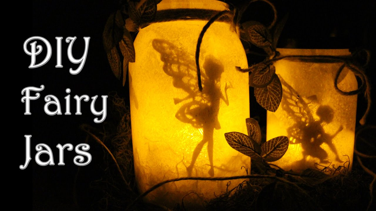 Diy Fairy Glow Jars No Tissue Paper Fairy Lantern Giveaway Youtube