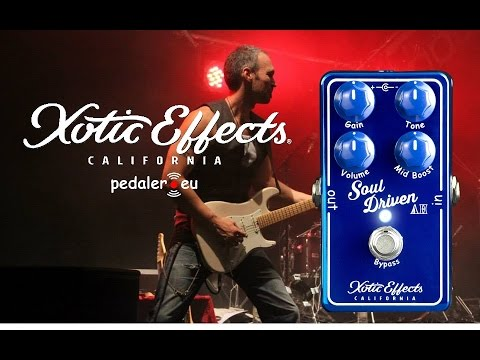 Xotic Soul Driven Allen Hinds Signature - Demo by Simon Gotthelf