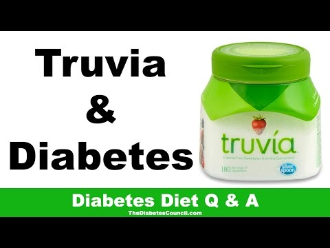 Is Truvia Good For Diabetes?