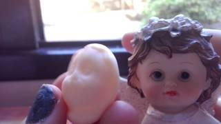 Como fazer molde de rosto boneca de biscuit