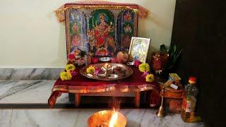 first day navratri puja,पहले दिन की नवरात्रि पूजा,anvesha,s creativity