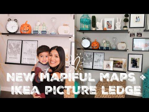 Ikea Mini Haul + Living Room Gallery Wall