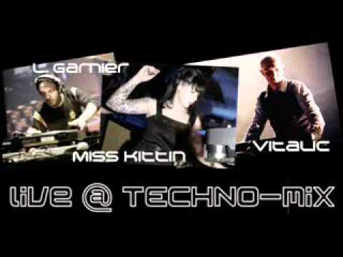 Vitalic vs Laurent Garnier & Miss Kittin - Live @ Techno Set MiX