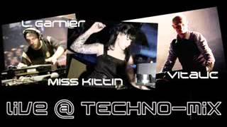 Vitalic vs Laurent Garnier & Miss Kittin - Live @ Techno Set MiX