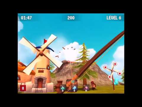 Bow Island - A Bow Shooting Game for iOS and Android