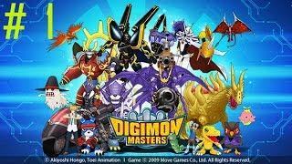 digimon Masters Online - Начало #1 (прохождение и обучение)