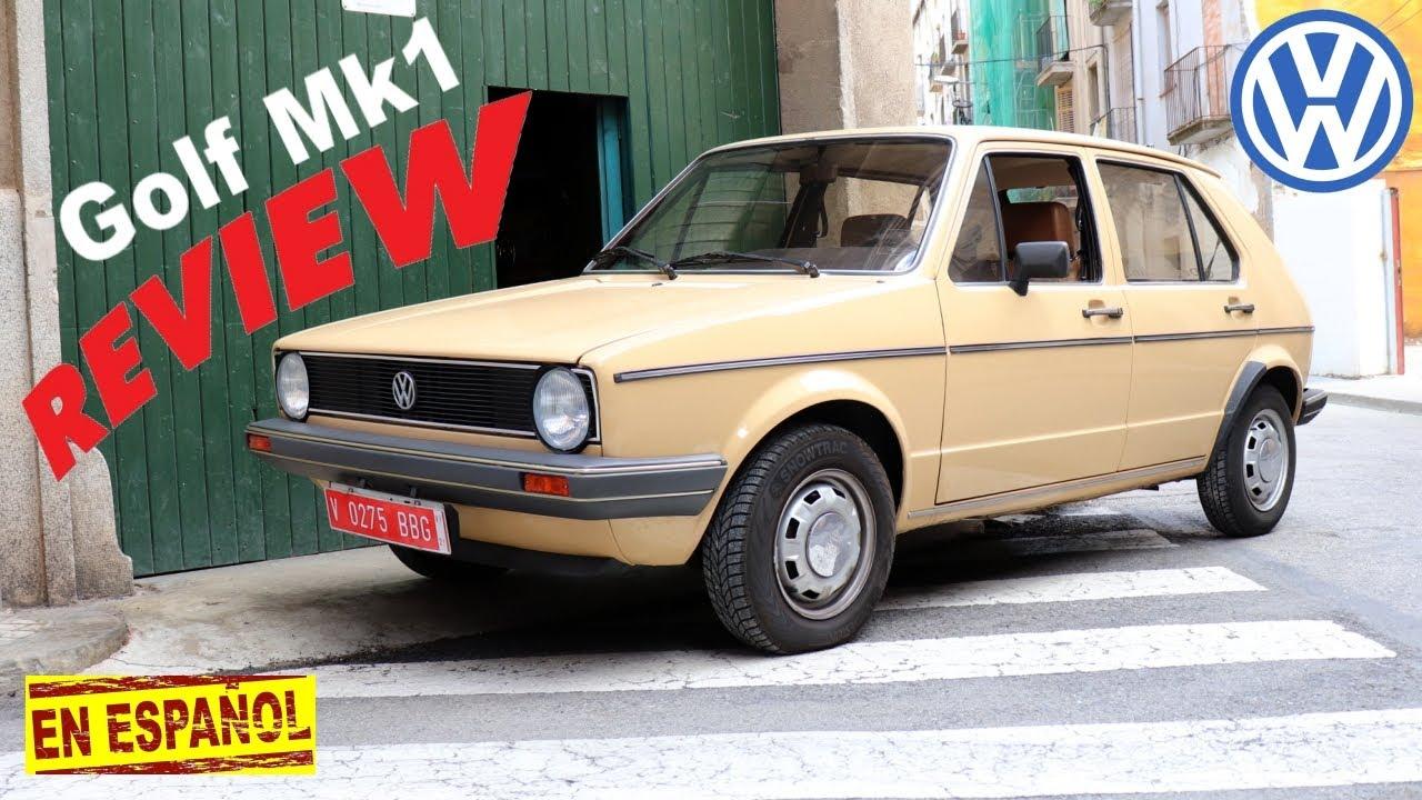 VW Golf Mk1 review en Español | Cuál es la historia del Volkswagen Golf | GOLF Mk1 EL MATAGIGANTES