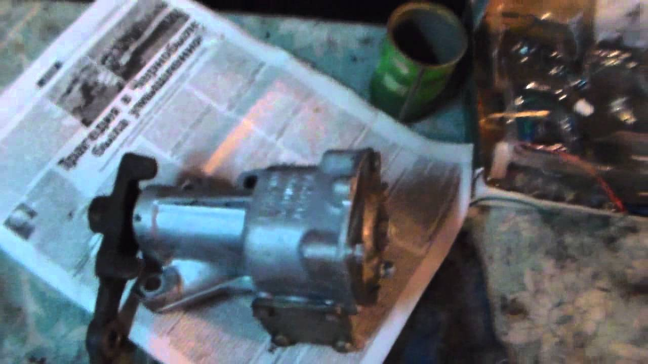 Замена: Рулевой редуктор (колонка) ВАЗ 2101 КЛАССИКА № 43.