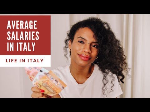 SALARIES IN ITALY // How much do Italians make? 💶  // LIFE IN ITALY