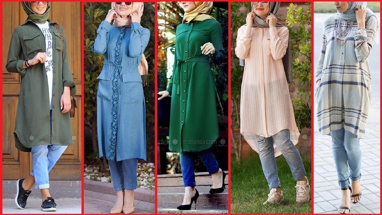c232662d8f98 kashmiri Kurti Design|Kashmiri Dress Designs| hijabi Girls Fashion|long  shirt designs