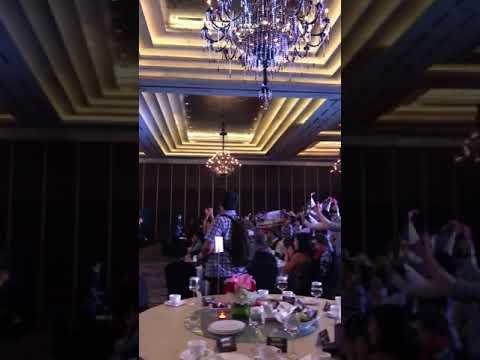 MC Nando Sembiring & MC Wiwied Salman ( Awarding Night Bank Commonwealth )