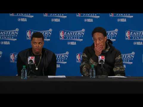 Raptors Post-Game: Kyle Lowry & DeMar Derozan - May 21, 2016