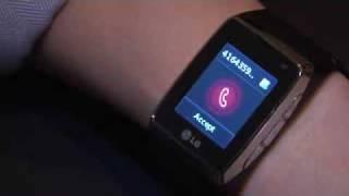 Video en movimiento del LG GD910 (el móvil pulsera)