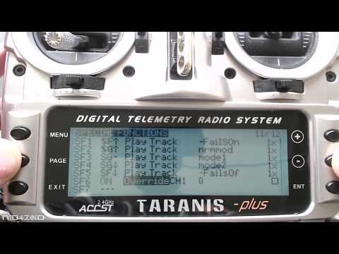 How to add volume knob control to a Taranis.