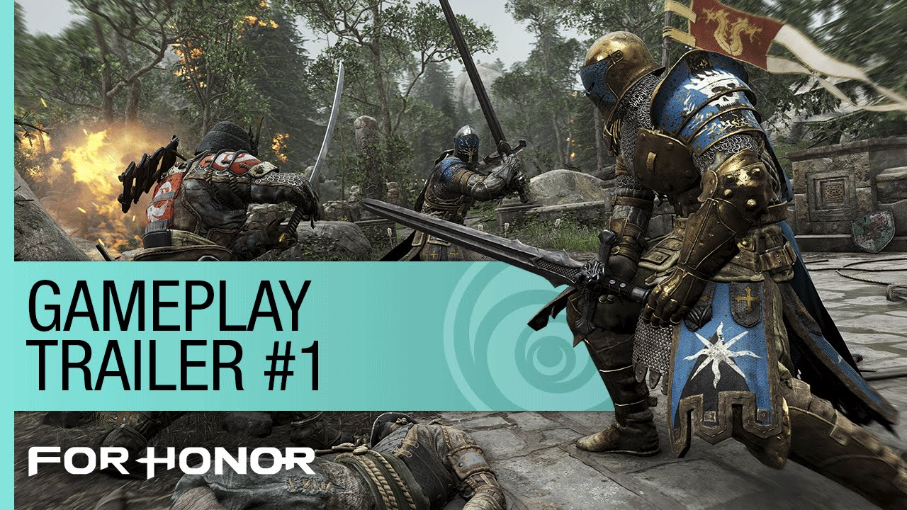 for honor multiplayer gameplay trailer 1 e3 2015 us youtube. Black Bedroom Furniture Sets. Home Design Ideas