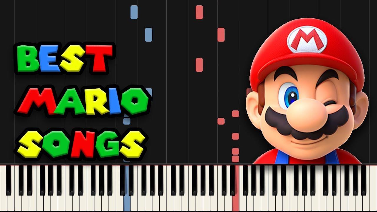 Download Best MARIO Songs on Piano (Super Mario Piano Medley)