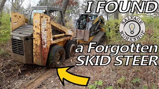 Rescuing an Abandoned Skid Steer from it's GRAVE ~ Forgotten for 12 Years