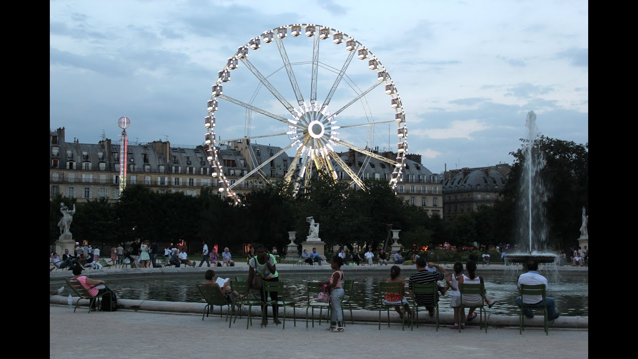 Carnival at the Jardin des Tuileries, Summer Carnival in Paris - YouTube