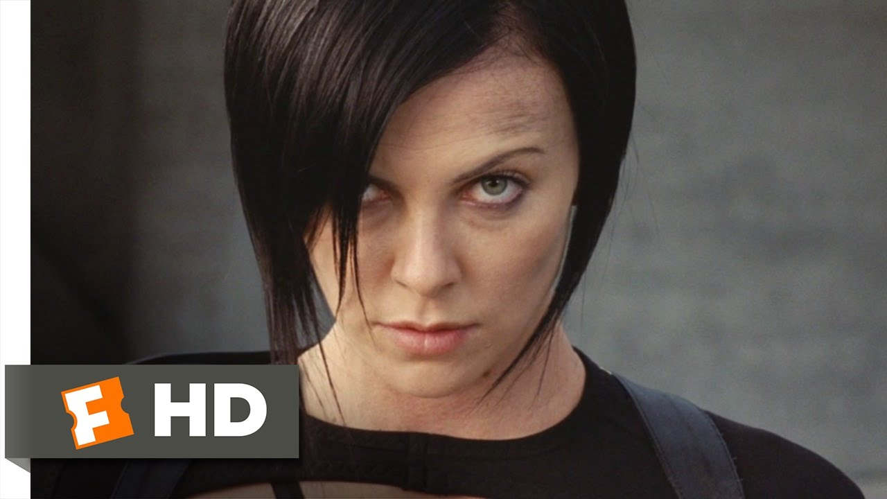 Aeon Flux 1010 Movie Clip Pose And Shoot 2005 Hd Youtube
