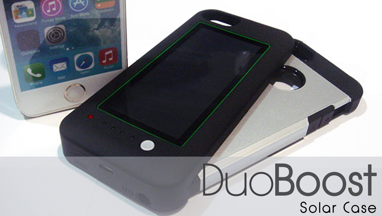 official photos d73a1 0d3dd Duo Boost Solar Case - Iphone 5/5s/5c Solar Charger - Project Kenga