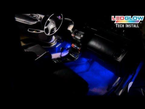 LEDGlow's 4 Piece LED Interior Lighting Kit Installation Video