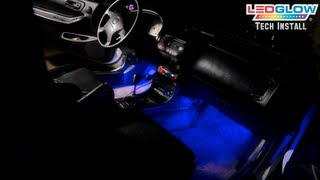 LEDGlow's 4 Piece LED Interior Lighting Kit Installation Video