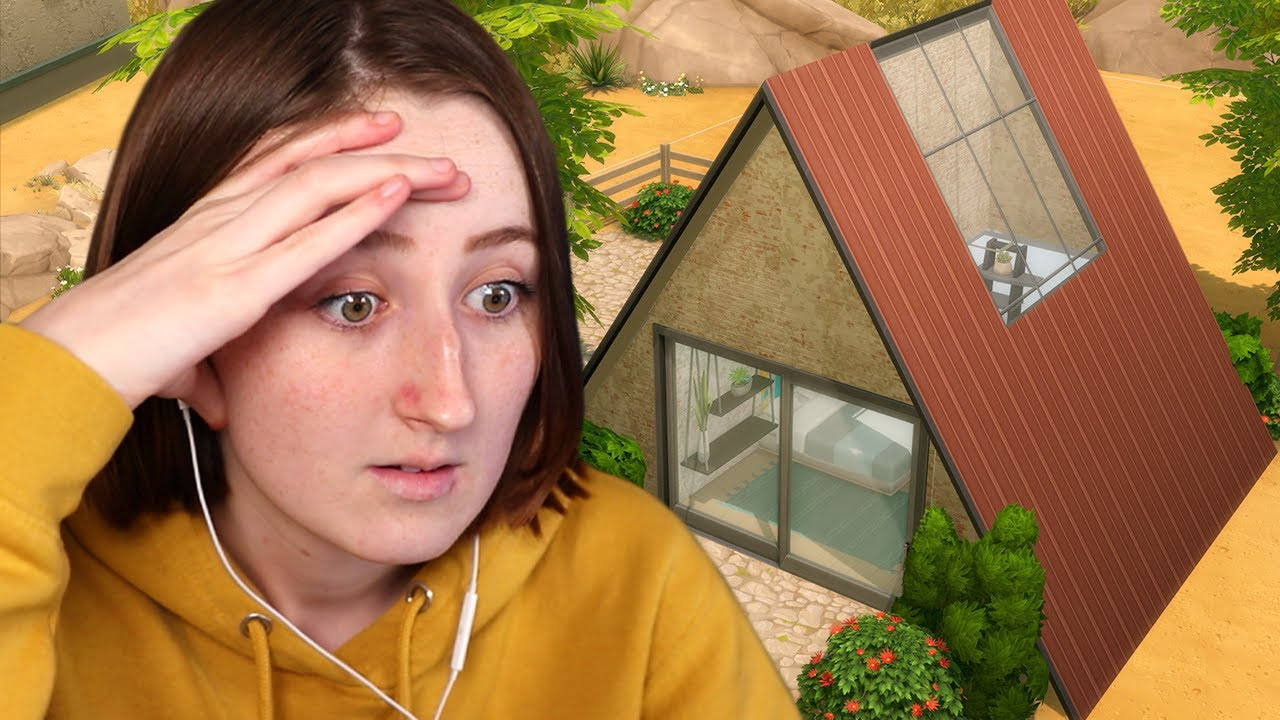 I only have $2000 to build a house in The Sims 4 thumbnail