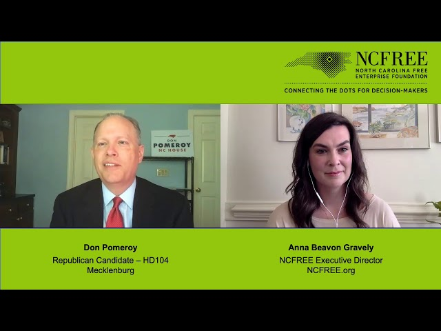 NCFREE Candidate Interview - Don Pomeroy, HD-104