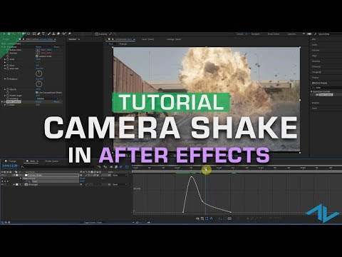 Tutorial: Creating Realistic Camera Shake in Adobe After Effects
