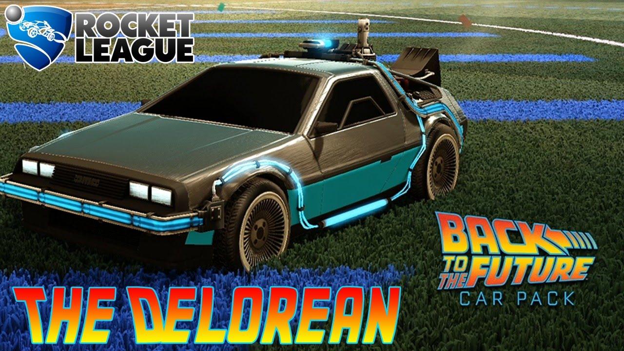 Rocket League Back To The Future Car Pack DLC The Delorean ...