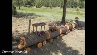 New 50 Log Wood DIY Creative Ideas 2016 - Log wood home ideas Part.3 -newest house