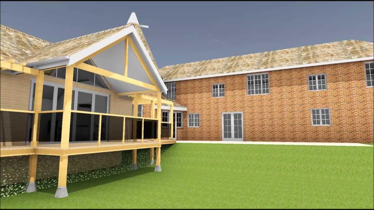 Model oast house