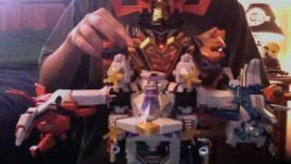 Samurai Sentai Shinkenger DX Samurai Gattai DaiKai-Oh Review Part 2/2: DaiKai Shinken-Oh