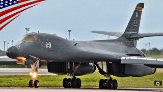 B-1 Bombers Forward Deployed at Andersen AFB, Guam - 米空軍がグアムにB-1爆撃機を10年ぶりに前方配備し、中国・北朝鮮をけん制