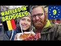 CHOCOLATE AND WAFFLES IN BRUSSELS, BELGIUM. 🍫 EUROTRIP #9