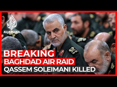Iran's Qassem Soleimani killed in US air raid at Baghdad airport
