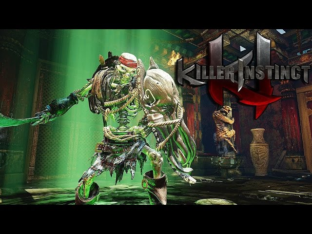 Killer Instinct PC Spinal vs Fulgore Ultra Combo - 60 FPS ON R9 390X