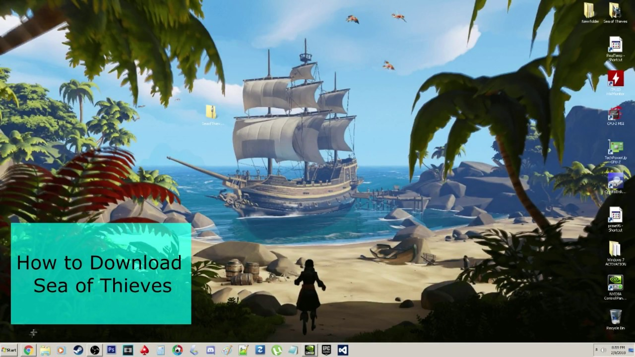 download sea of thieves pc