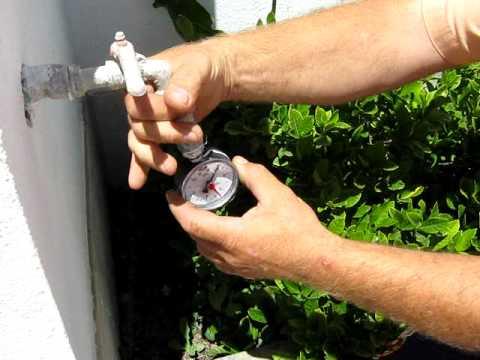 Acquedotto poca acqua ridotta pressione in rete