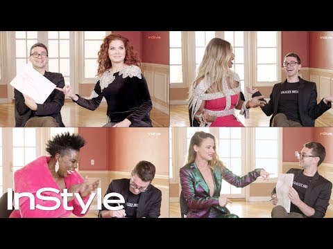 Christian Siriano Draws Celebs' Dream Dresses In 60 Seconds | InStyle