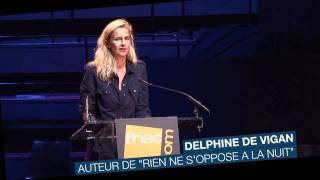 Remise du Prix du Roman Fnac 2011 à Delphine de Vigan